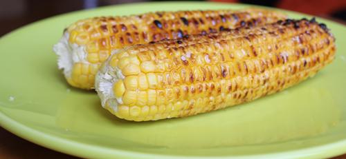 Massarocas de milho grelhadas